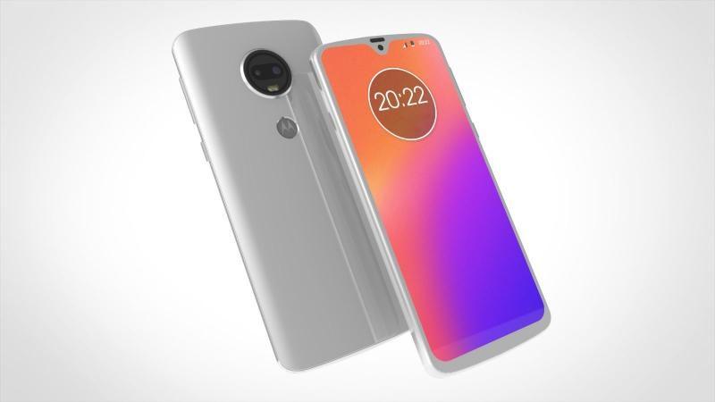 Опубликован официальный рендер смартфона Moto G7