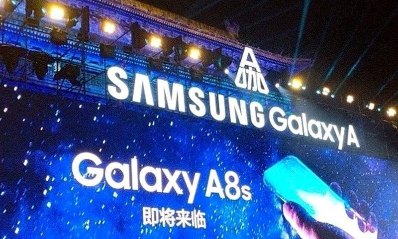 В Сети появился «живой» снимок экрана смартфона Samsung Galaxy A8s