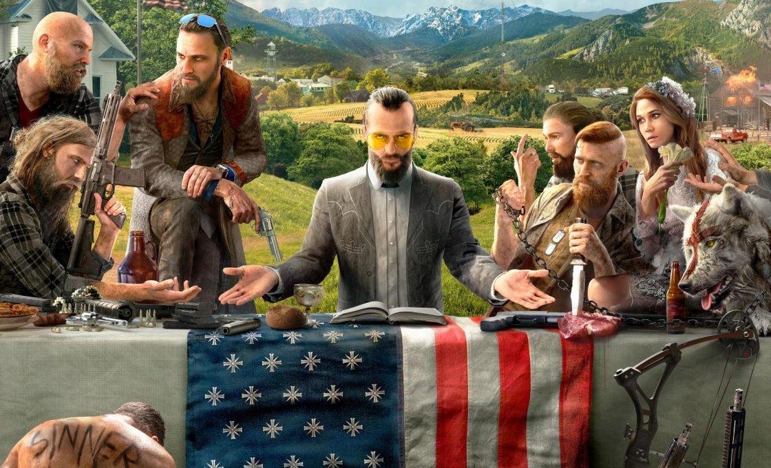 Кадр из игры Far Cry 5
