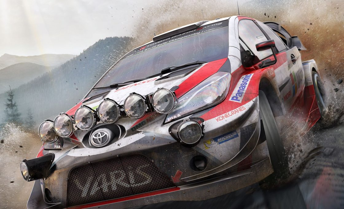 Кадр из игры WRC 7 FIA World Rally Championship