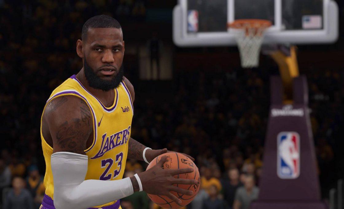 Кадр из игры NBA LIVE 19