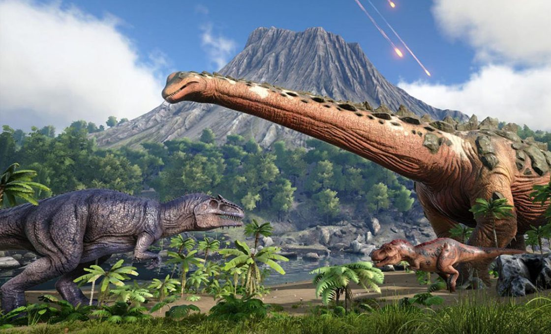 Кадр из игры ARK: Survival Evolved
