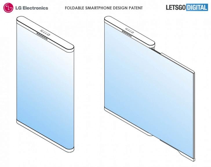 Смартфон LG с гибким экраном