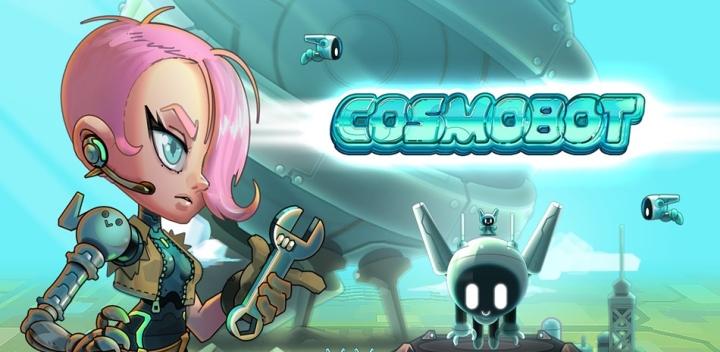 Игра Cosmobot, доступная в Google Play