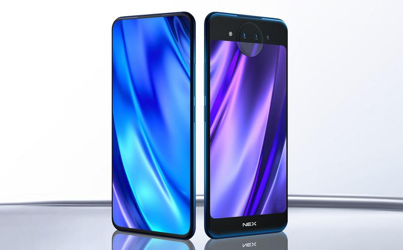 Представлен смартфон Vivo NEX Dual Display с двумя экранами и 10 ГБ ОЗУ