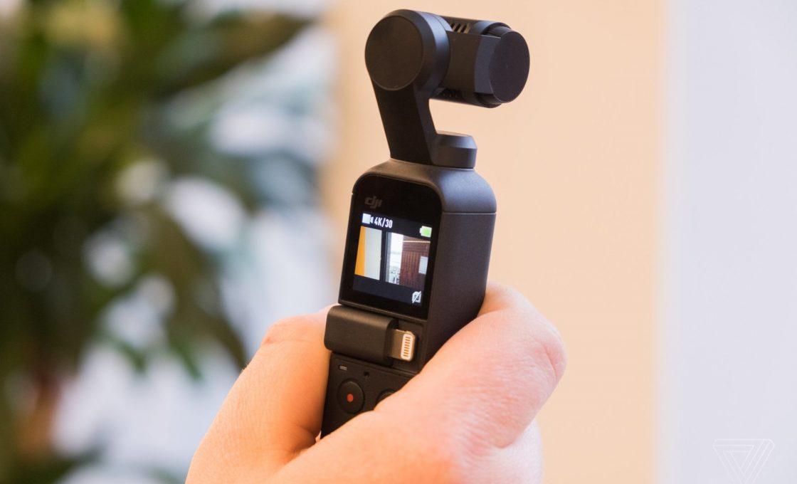 Стабилизатор Osmo Pocket от DJI