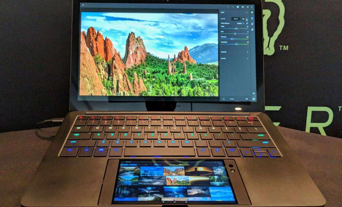 Лэптоп Project Linda от Razer