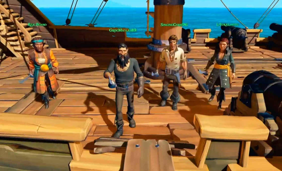 Xbox one 2018 Sea of Thieves