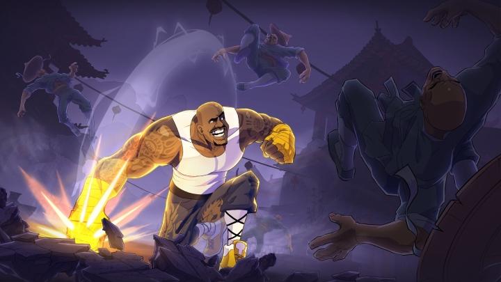 Игра Shaq Fu: A Legend Reborn