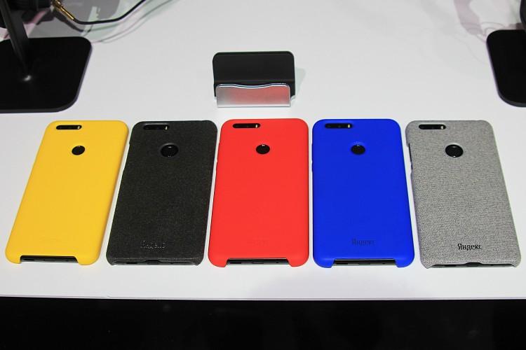Разноцветные силиконовые накладки для смартфона