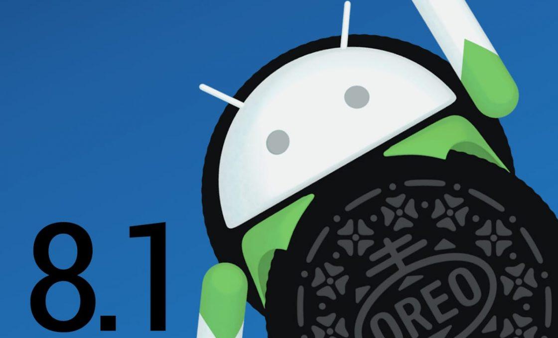 Логотип платформы Android 8.1 Oreo