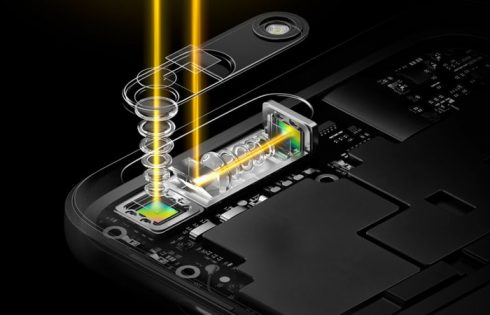 Oppo анонсировала камеру для смартфонов с 10-кратным оптическим зумом