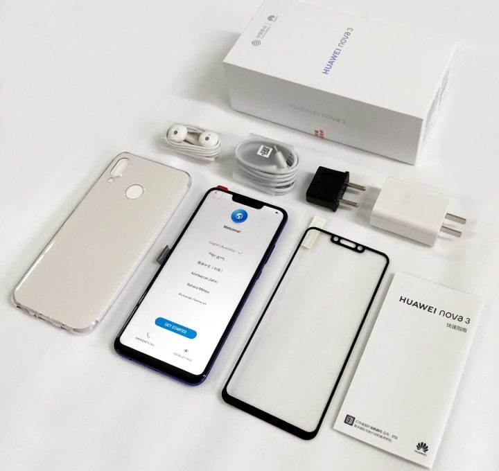 Комплектация Huawei Nova 3