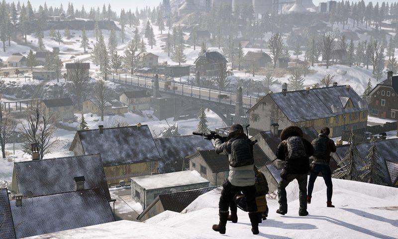 Зимняя карта в консольной версии PlayerUnknown's Battlegrounds появится совсем скоро
