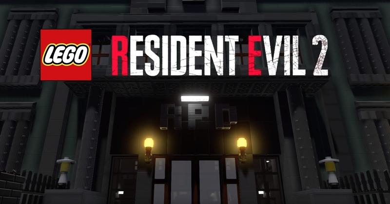 В игре LEGO Worlds удалось воссоздать события Resident Evil 2