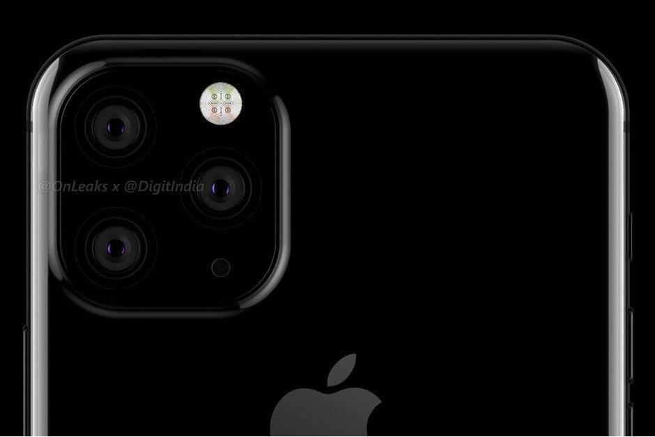Отклонённый вариант дизайна iPhone XI