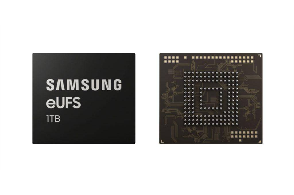 Флеш-память Samsung объёмом 1 ТБ