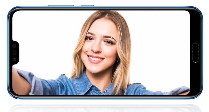 Распознавание лиц на смартфоне Huawei Honor 10
