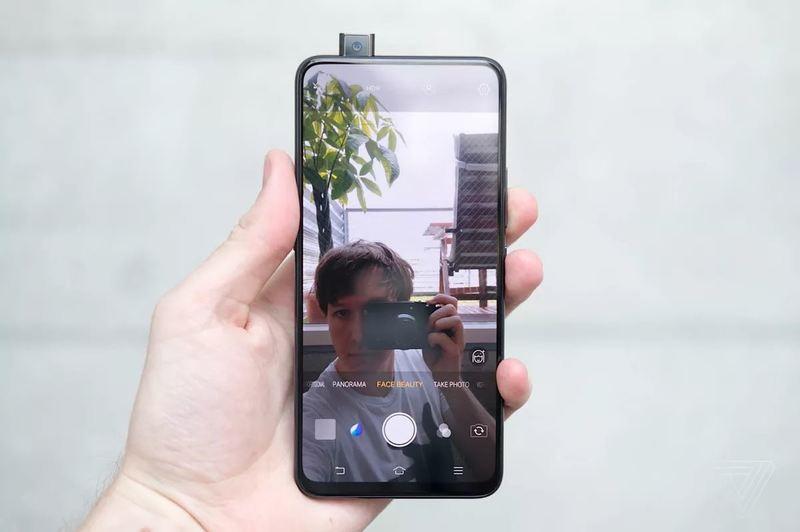 Смартфон Samsung Galaxy A90 получит выдвижную фронтальную камеру
