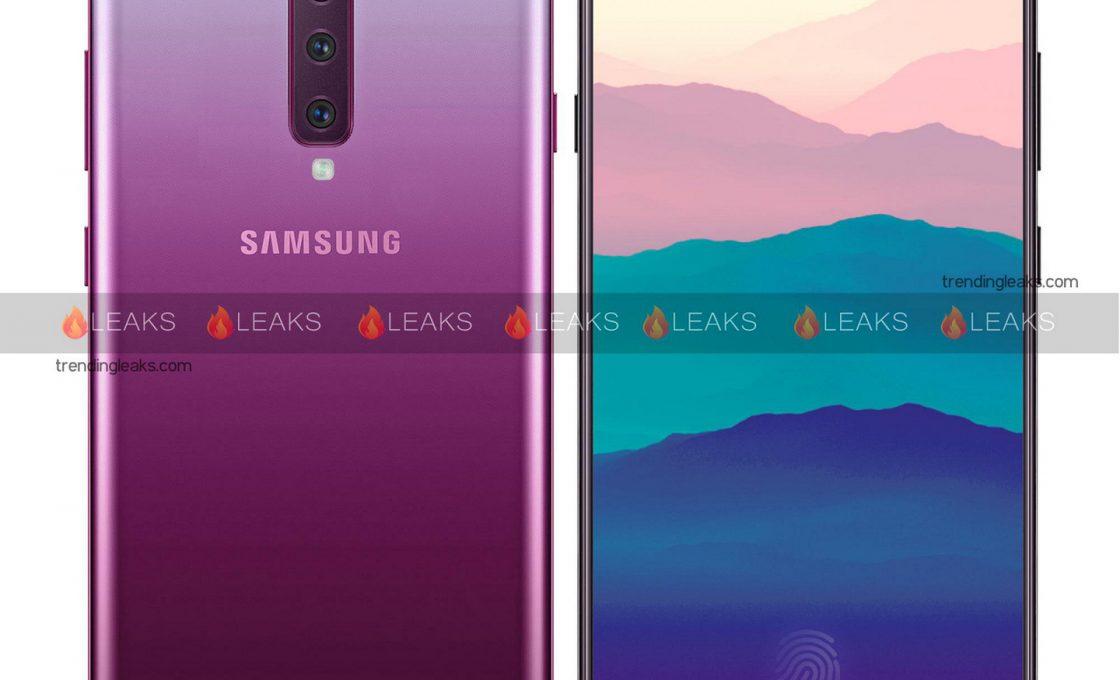 Так, предположительно, будет выглядеть Samsung Galaxy A90