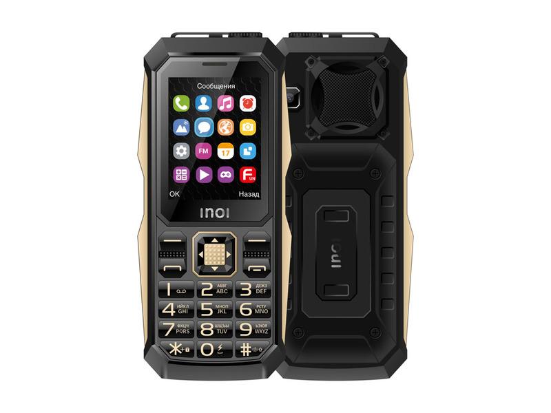 Кнопочный телефон Inoi 246Z может проработать без подзарядки до двух месяцев