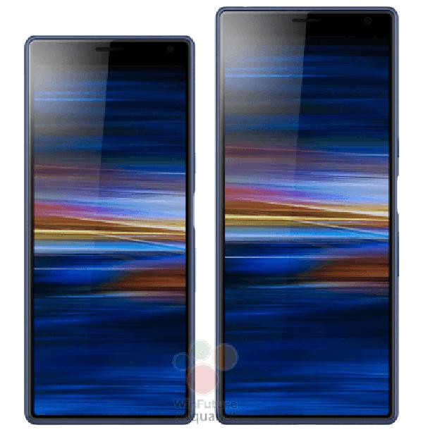 Sony Xperia 10 и Xperia 10 Plus