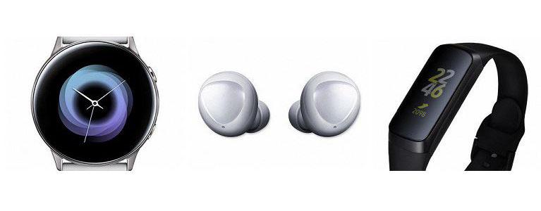 Новые носимые устройства Samsung