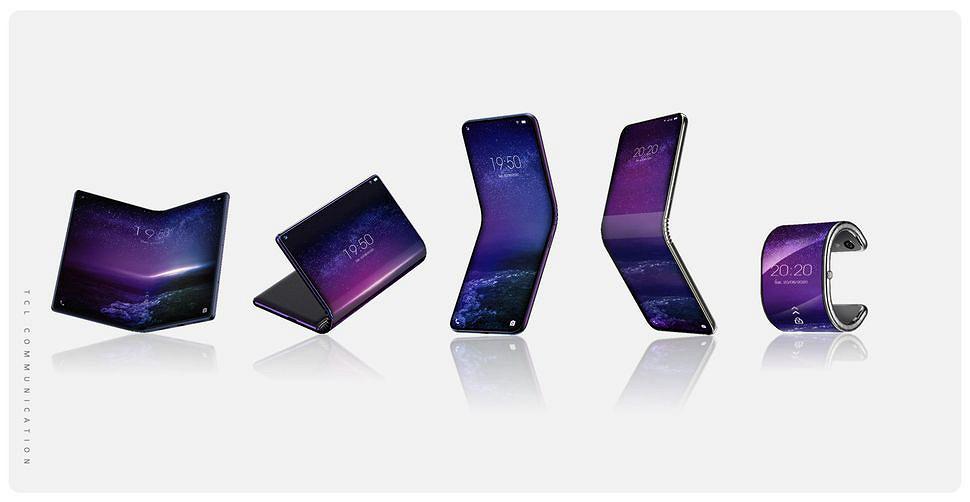Складные смартфоны TCL