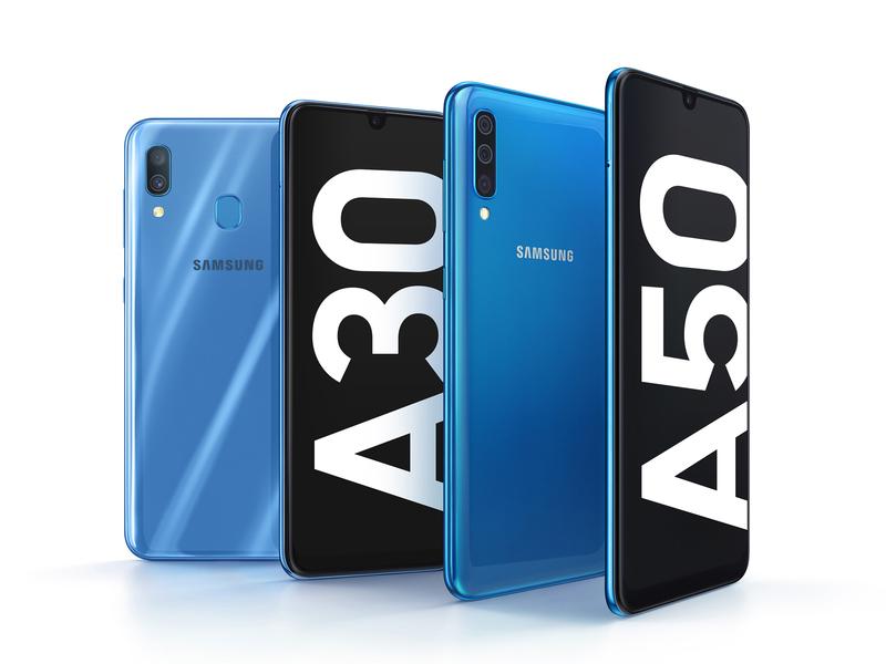 Представлены смартфоны Samsung Galaxy A30 и Galaxy A50