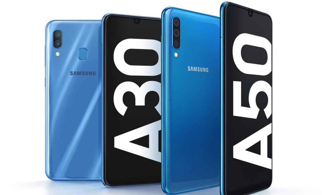 Samsung Galaxy A30 и Galaxy A50