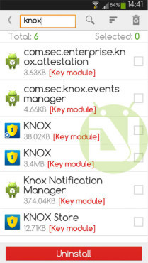 Knox на Samsung