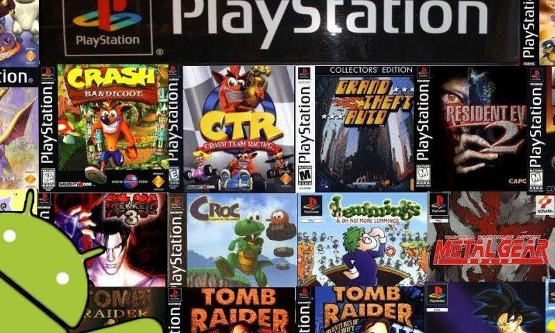 Десятка лучших игр Sony PlayStation 1 на Андроид