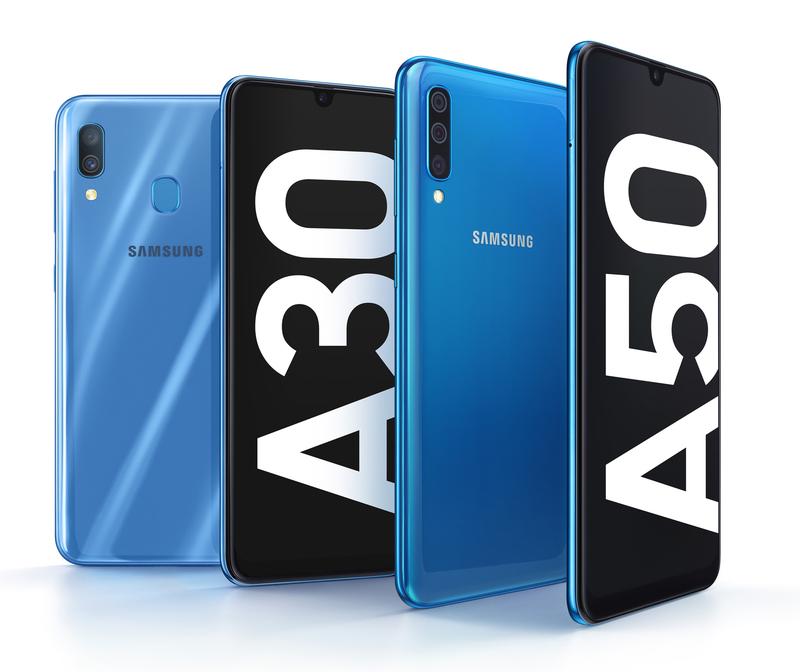В России стартовали продажи смартфонов Samsung Galaxy A30 и A50