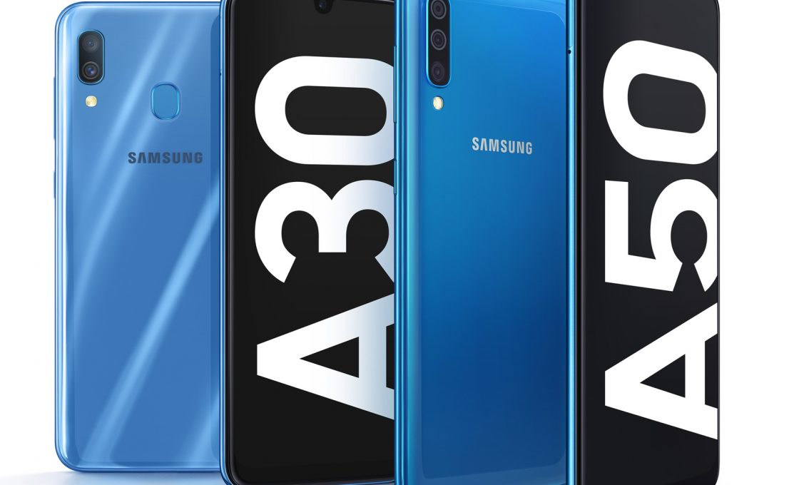 Samsung Galaxy A30 и A50