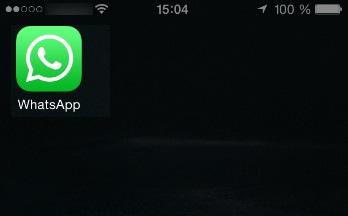 WhatsApp на iOS