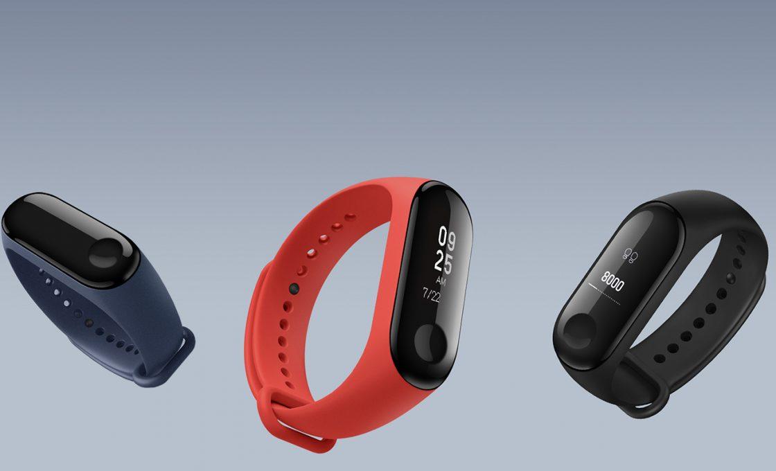 Фитнес-браслеты Xiaomi Mi Band 3