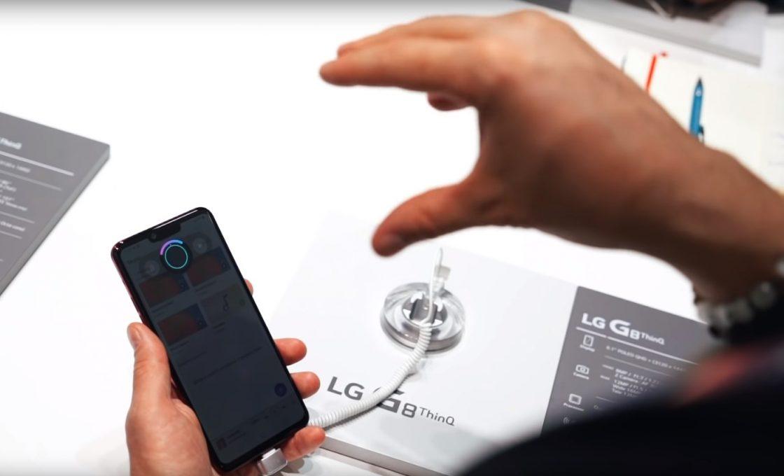 Бесконтактная регулировка громкости на LG G8