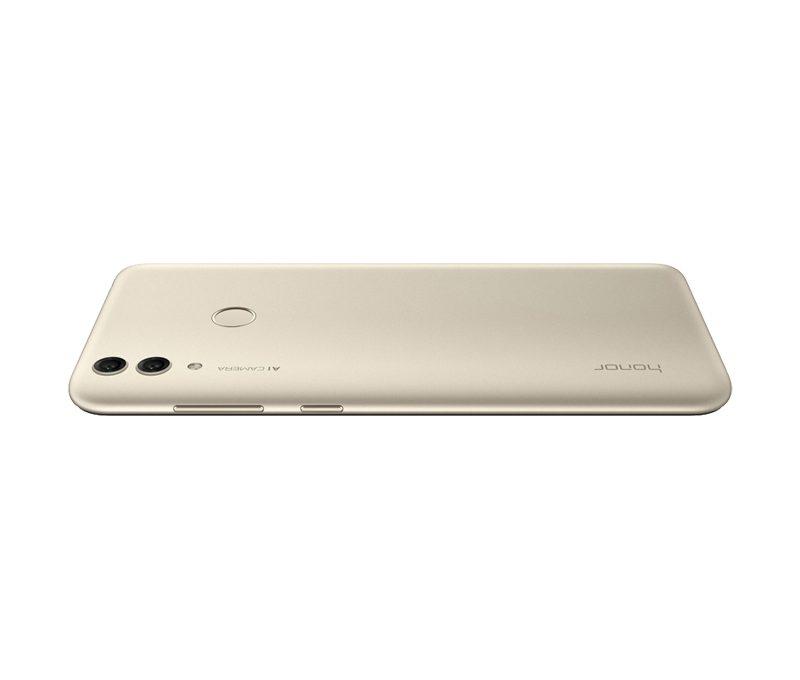 Кнопки регулировки громкости и включения на смартфоне Honor 8C