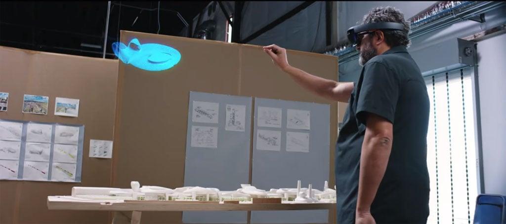 Смешанная реальность с Microsoft HoloLens
