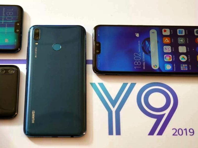 Внешний вид Huawei Y9