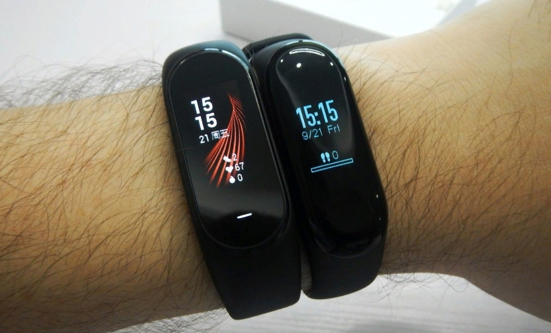 Фитнес-браслеты от Xiaomi