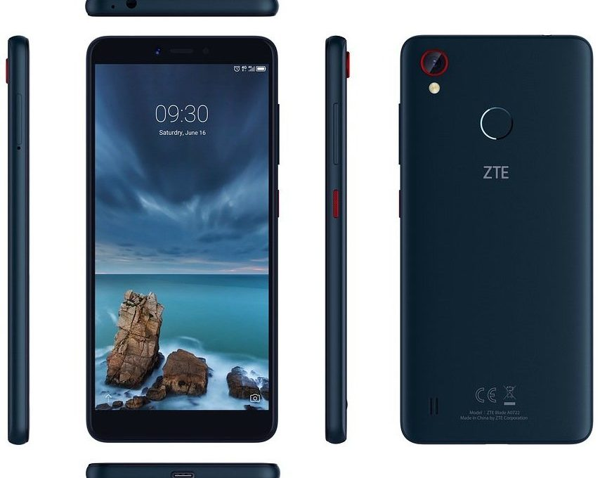 Обзор всех сторон смартфона ZTE Blade A7