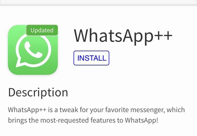 Приложение WhatsApp++
