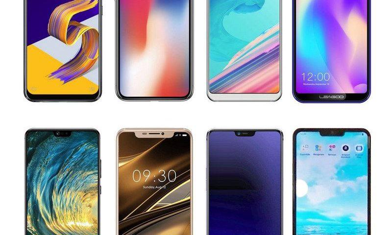 8 смартфонов, которые похожи на iPhone X