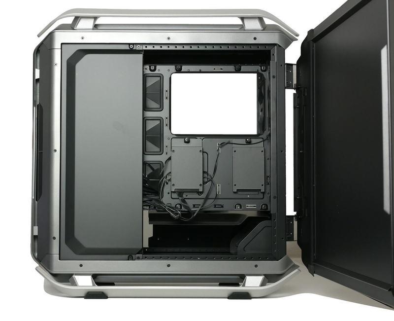 Характеристики корпуса Cooler Master Cosmos C700P Black Edition для мощного игрового ПК