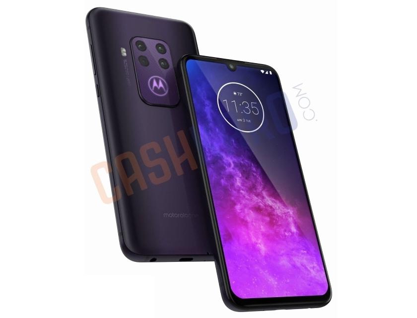 Рендеры смартфона Motorola One Pro