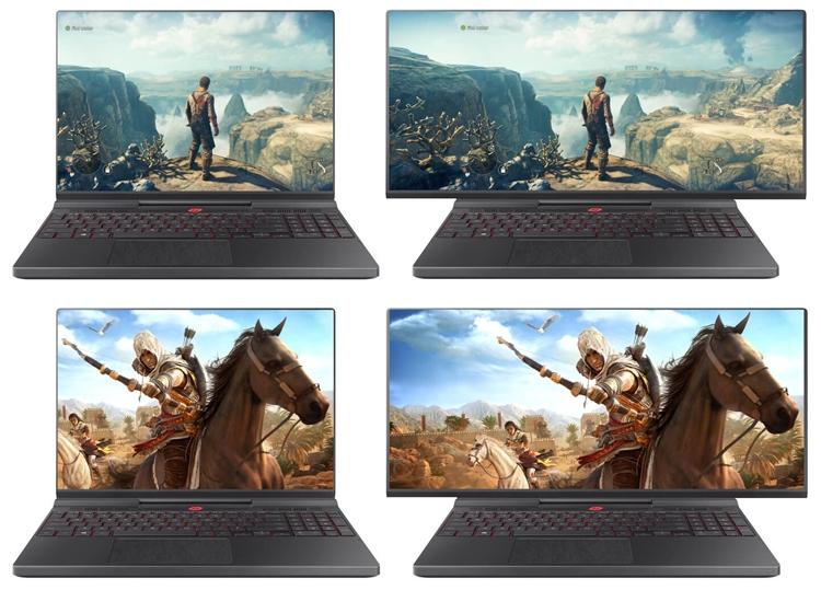 Samsung придумала ноутбук с расширяющимся экраном