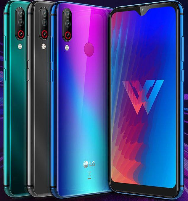 Смартфон LG W30