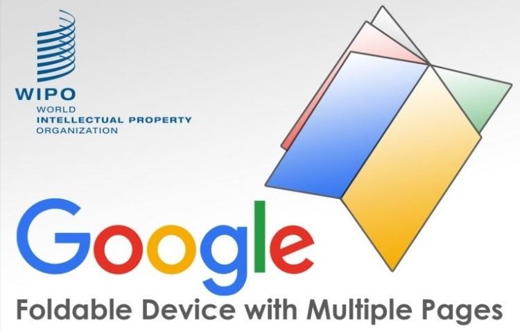 Google запатентовала книгу-смартфон