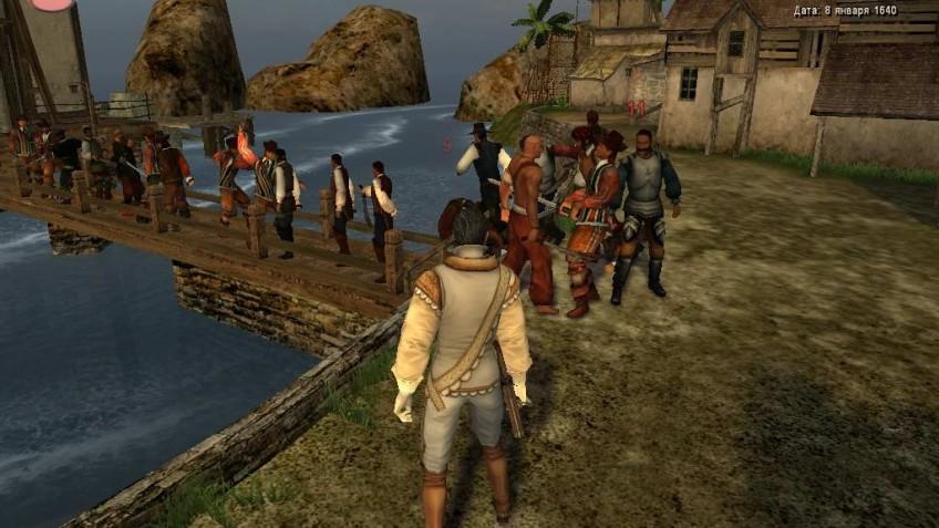 Кадр из игры Корсары